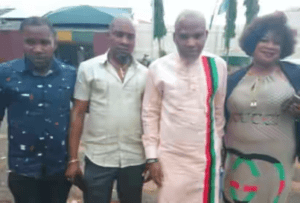 Nnamdi Kanu Finally Leaves Kuje Prison (Photos) 2
