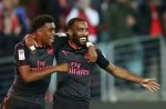 Lacazette Scores For Arsenal On Debut