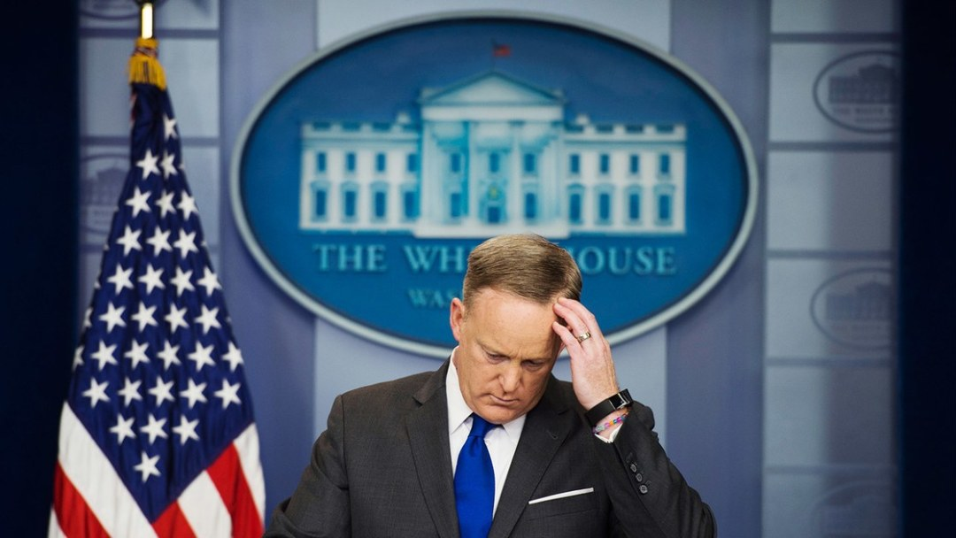 sean-spicer-press-conference Foreign General News News World news