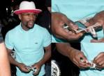 Floyd Mayweather Shows off His $1M Diamond Encrusted iPod [Photos]