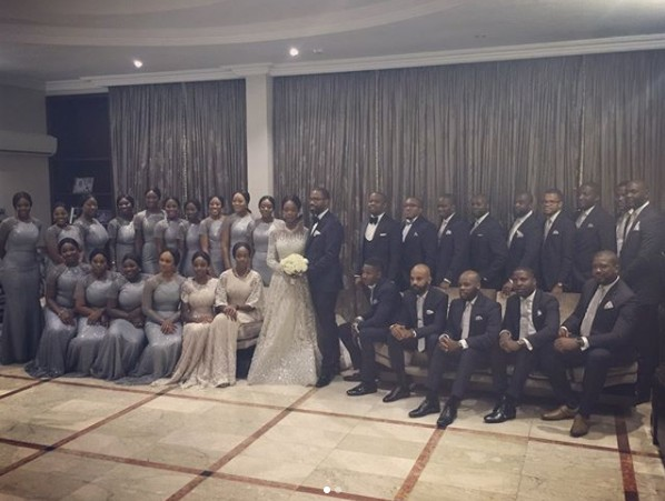 More Photos From The Wedding Reception of Senate President, Bukola Saraki's Daughter, Tosin in Abuja