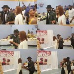 Video: Banky W and Adesua Celebrated Their Wedding Thanksgiving in London Yesterday