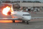 A Delta Airline Flight From Lagos to Atlanta Catches Fire, Leaving 5 People Injured
