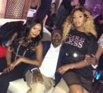 Billionaire Mogul, Femi Otedola, Goes Clubbing With His Daughters in Dubai
