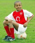 Alex Iwobi Shares Throwback Photo As He Clocks 22