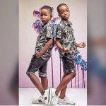 Photo: Wizkid's Son And Ice Prince's Son Pose Together In Matching Oufits