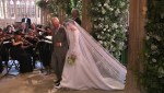 Photos of Meghan Markle's As She Walks Down The Aisle With Prince Charles