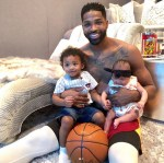 Tristan Thompson Shares Cute Photo With His Son And Daughter