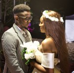 Viral Video of Kizz Daniel And Seyi Shay Cuddling And Kissing On Set