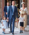 Members of The Royal Family At Prince Louis' Christening Today [Photos/Video]