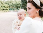 The Royal Family Release An Additional Photo From Prince Louis' Christening And It's Adorable