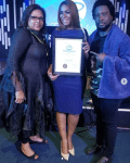 Linda Ikeji Receives United Nations' Global Leadership Award And An Invite To Speak At The UN Next Year