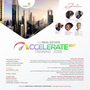 The Real Estate Accelerate Training