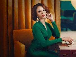 Stunning new photos of Adesua Etomi-Wellington