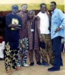 Epic Throwback Photo of Sound Sultan, Faze, Blackface And 2face