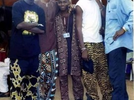 Check out this epic throwback photo of Sound Sultan, Faze, Blackface and 2face