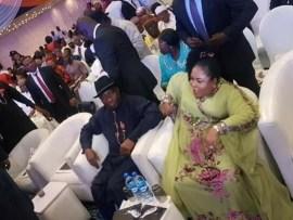 Photos: Obasanjo, Atiku, Gowon, Saraki, Dogara, Abdulsalam attend Jonathan?s book launch in Abuja