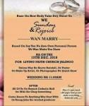 See This Viral Wedding Invitation Card Written in Pidgin English