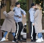 Justin Bieber And Wife Hailey Baldwin Show off Dance Moves, Shares Passionate Kiss in Beverly Hills [Photos]