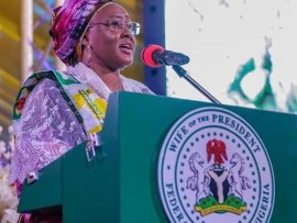 Two powerful presidential aides are holding my husband and Nigeria hostage ? Aisha Buhari