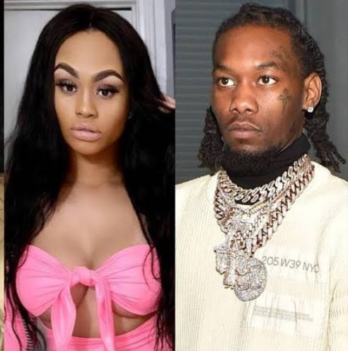 Offset's Side Chick Claims She's Pregnant And Shows That Offset Knows About It [Screenshot]
