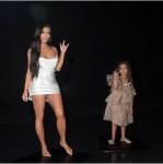 Kim Kardashian And Daughter North West Goof Around During A Photo Shoot [Photos]