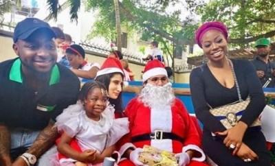 Photos: Davido and Sophia Momodu attend their daughter