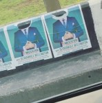 Adesua Etomi Reacts After Banky W's Campaign Posters Was Destroyed in Lagos