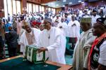 President Buhari Presents The 2019 Budget At The National Assembly