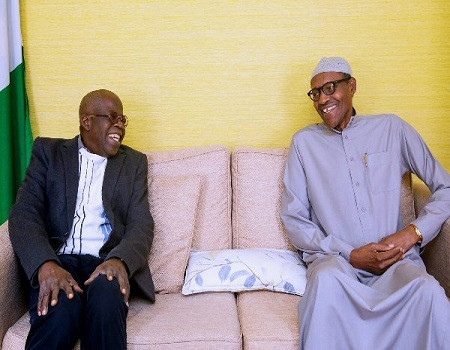 President Buhari hands over his presidential campaigns to Bola Tinubu