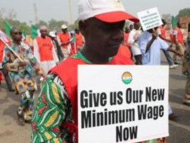 Minimum Wage: Photos from the?NLC rally in Lagos and?Abuja