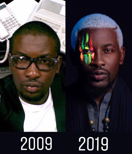 Nigerians join the #10YearsChallenge by sharing photos of themselves taken 10 years ago and now