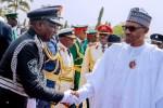 Photos: President Buhari, Saraki, Osinbajo, Dogara At Armed Forces Remembrance Day