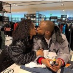 Davido And His Girlfriend, Chioma, Lock Lips in New Photo