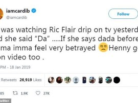 Cardi B says she