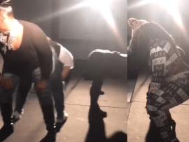 Pastor of Naked Truth Liberation and Empowerment Ministries shares video of women twerking on