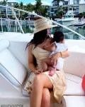 Kylie Jenner And Her Daughter Stormi Enjoy A Yacht Trip in The Turks And Caicos [Photos]