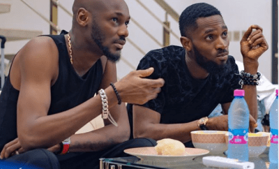 Caption this photo of 2face and Dbanj