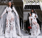 Rapper Waka Flocka And Wife Tammy Rivera Share Glamorous Photos From Their Wedding Ceremony in Mexico
