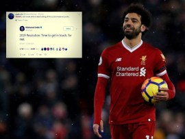 "African best footballer Mohamed Salah disappears from social media after posting: ""2019 Resolution: Time to get in touch, for real"""