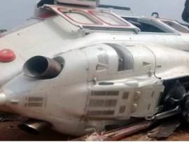 Breaking: VP Osinbajo survives as his?helicopter crash-lands In Kogi State