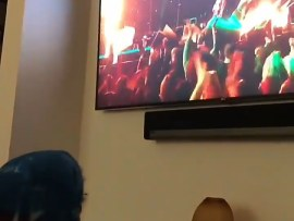 Kylie Jenner shares adorable video of her daughter Stormi Webster excitedly watching her father Travis Scott perform at the Super Bowl