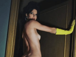 Kendall Jenner Poses For Italian Vogue in New Racy Shoot [Photos]