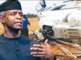 Accident Investigation Bureau concludes investigation on Osinbajo