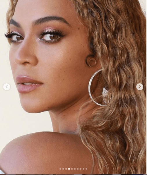 Beyonce shares more stunning photos of her outfit to the Roc Nation