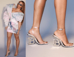Beyonce Shares Stunning Photos of Her Outfit To The Roc Nation's Pre-Grammys Brunch