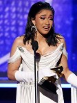 Cardi B Becomes First Solo Female To Win Best Rap Album At The Grammys