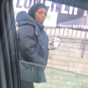 """Nigerian man in UK shares a photo of """"Diezani"""" walking on the streets on London (photos)"""