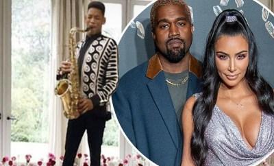 Lol. Will Smith trolls Kim Kardashian and Kanye West over Kenny G Valentine