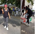 #NigeriaDecides – Tinubu, Falz, Toke Makinwa, Others; Photos of Your Favorite Politicians And Celebrities At Their Polling Units